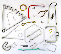 D.R. Templeman: Picture of Various Wire Forms & Rings